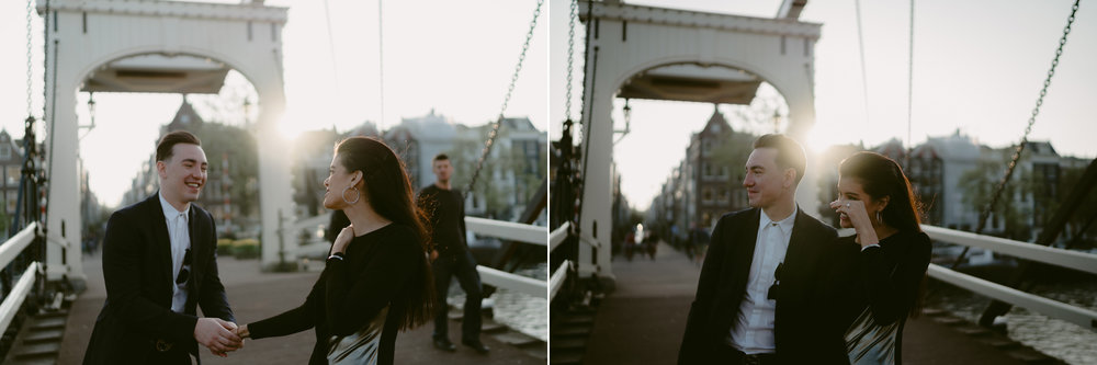 bruidsfotografie amsterdam engagement shoot proposal