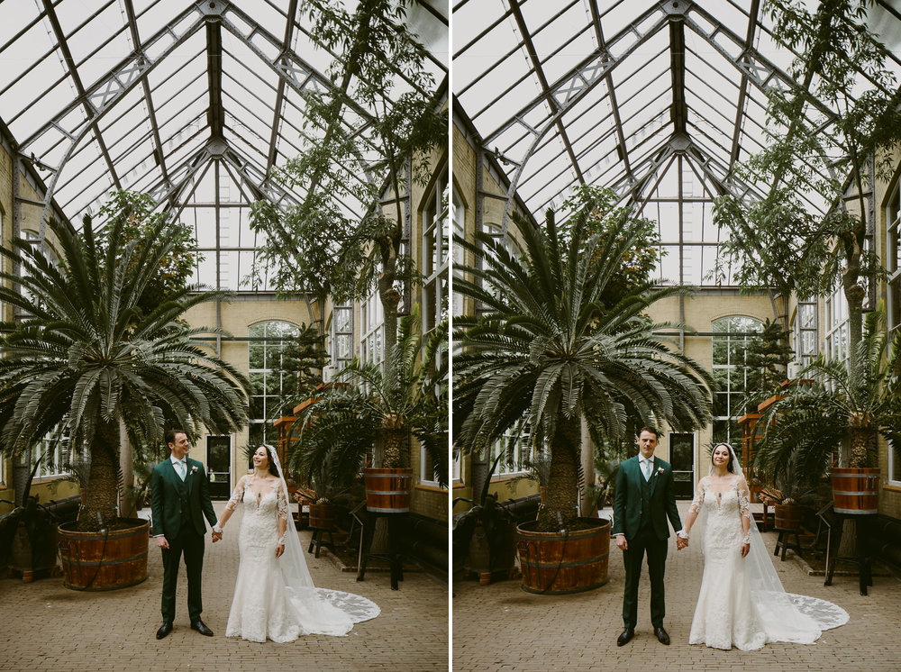 amsterdam wedding photographer mark hadden at the hortus botanicus