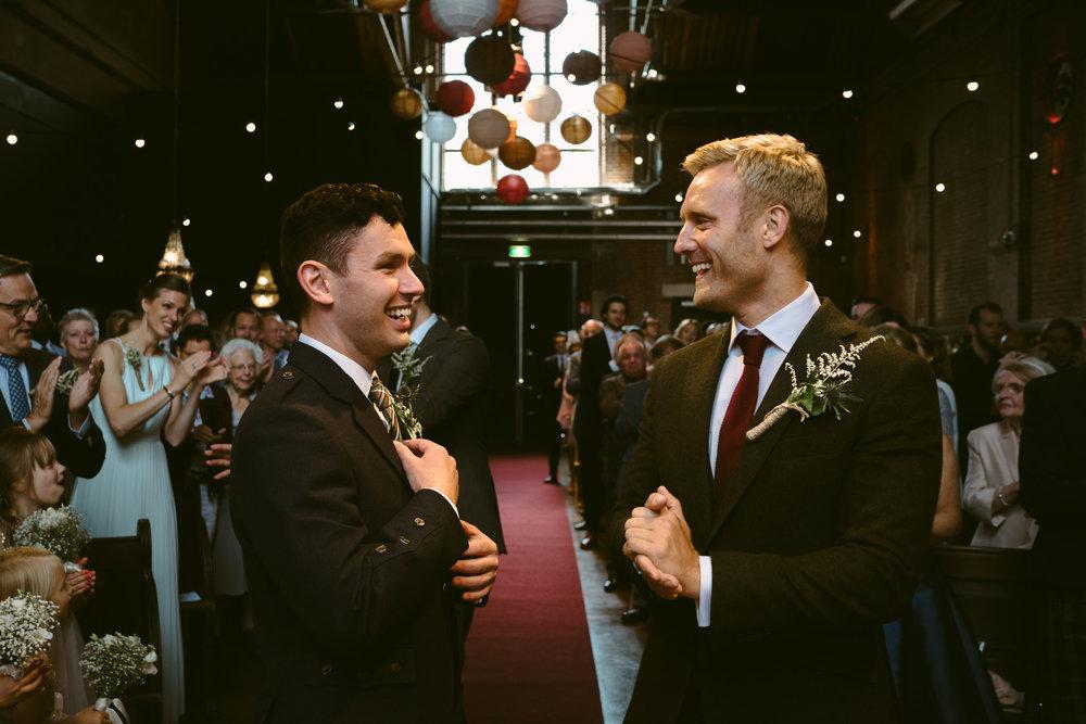 wedding photographer amsterdam ceremony mark hadden