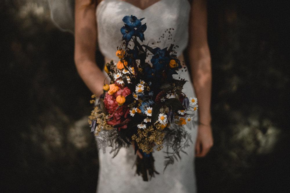 trouwfotograaf amsterdam bruiloft bloemen