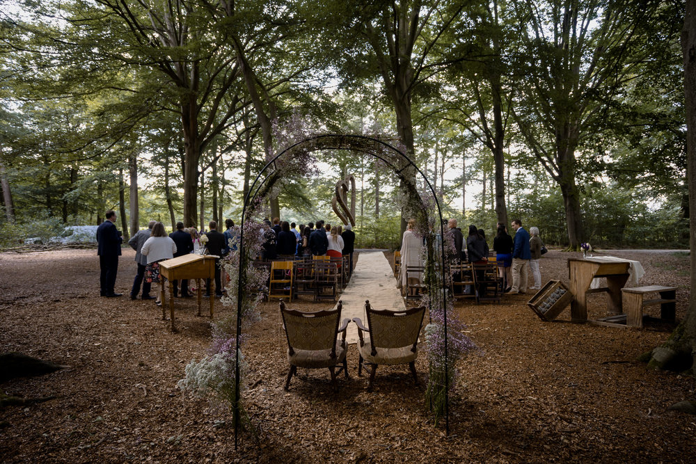 utrecht trouwfotograaf mark hadden bruiloft in het bos
