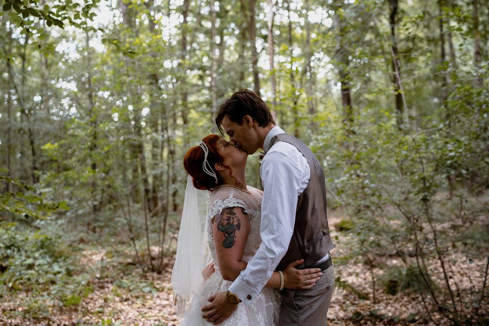 bruidsfotograaf amsterdam mark hadden bruidspaar kusjes
