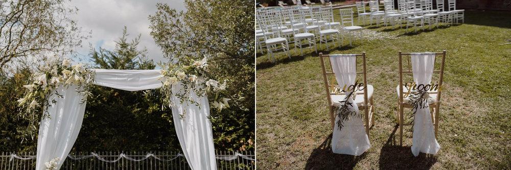 tuscany wedding decoration idea's photography amsterdam