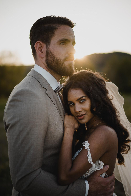bruidspaar portret - mark hadden amsterdam trouwfotograaf