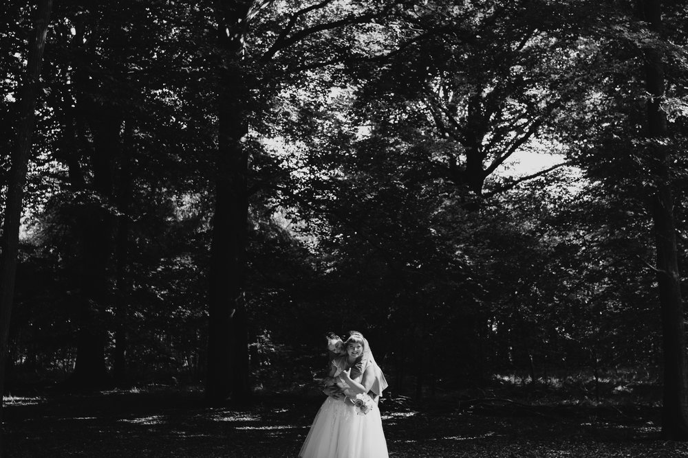 the best wedding photography netherlands by mark hadden couple in black and white