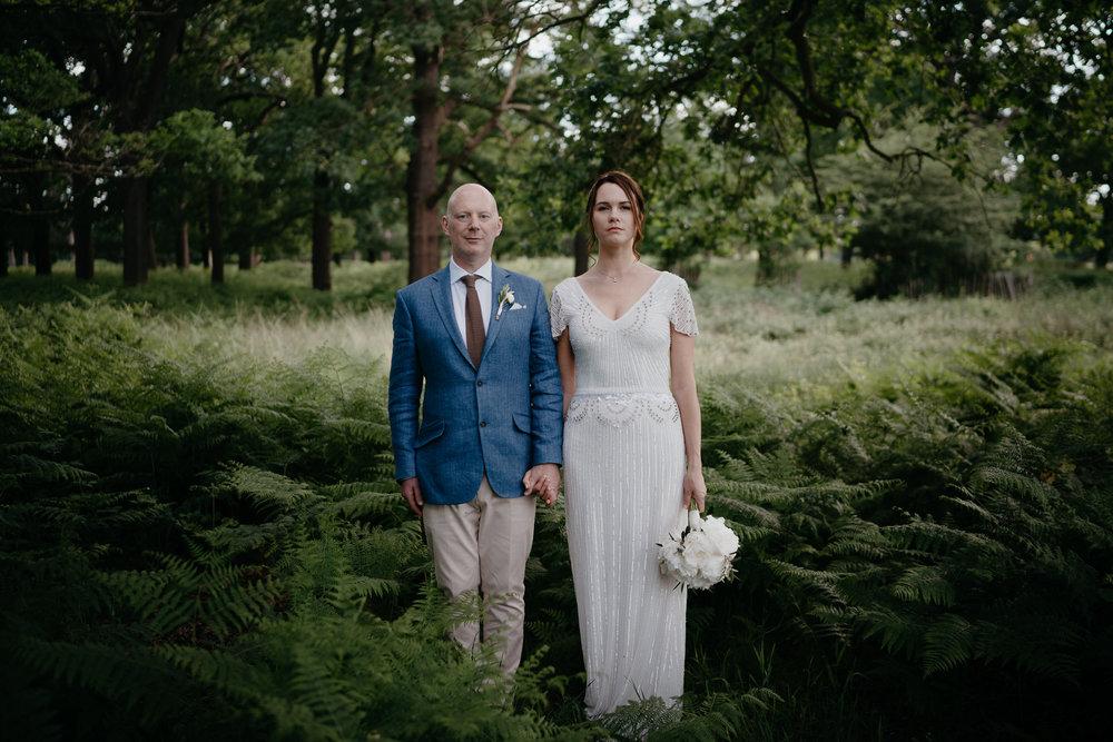 bruidspaar portretten door mark hadden amsterdam trouwfotograaf