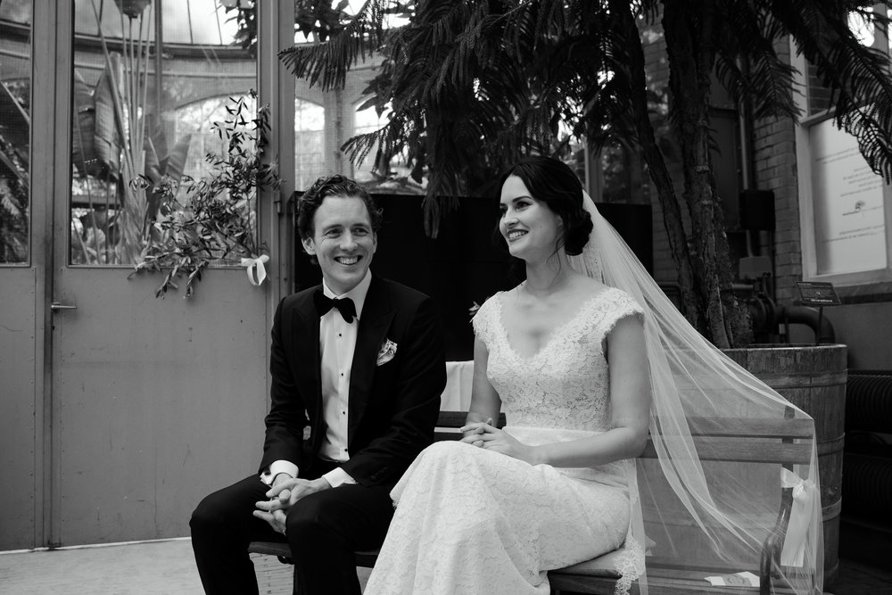bruiloft hortus amsterdam bruidsfotograaf mark hadden