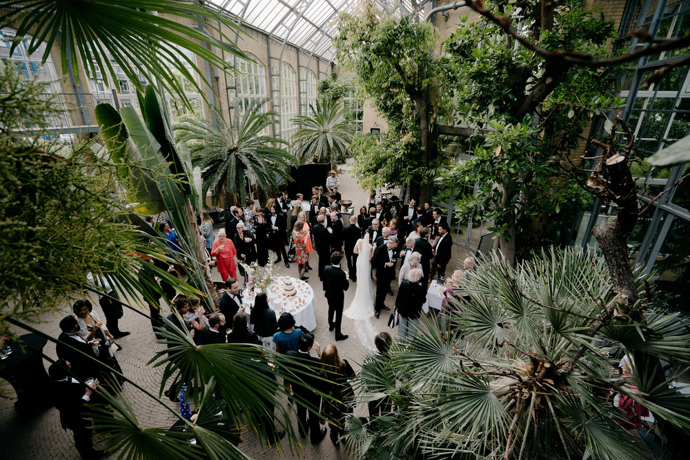 wedding in the hortus amsterdam