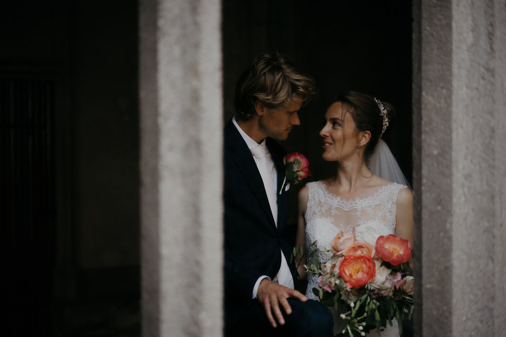 utrecht wedding photography couple in the dom tower utrecht by mark hadden amsterdam wedding photographer