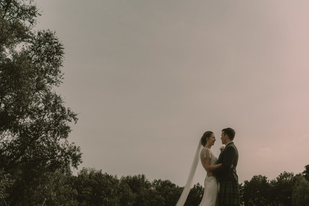 couple photography at beautiful wedding location in the netherlands
