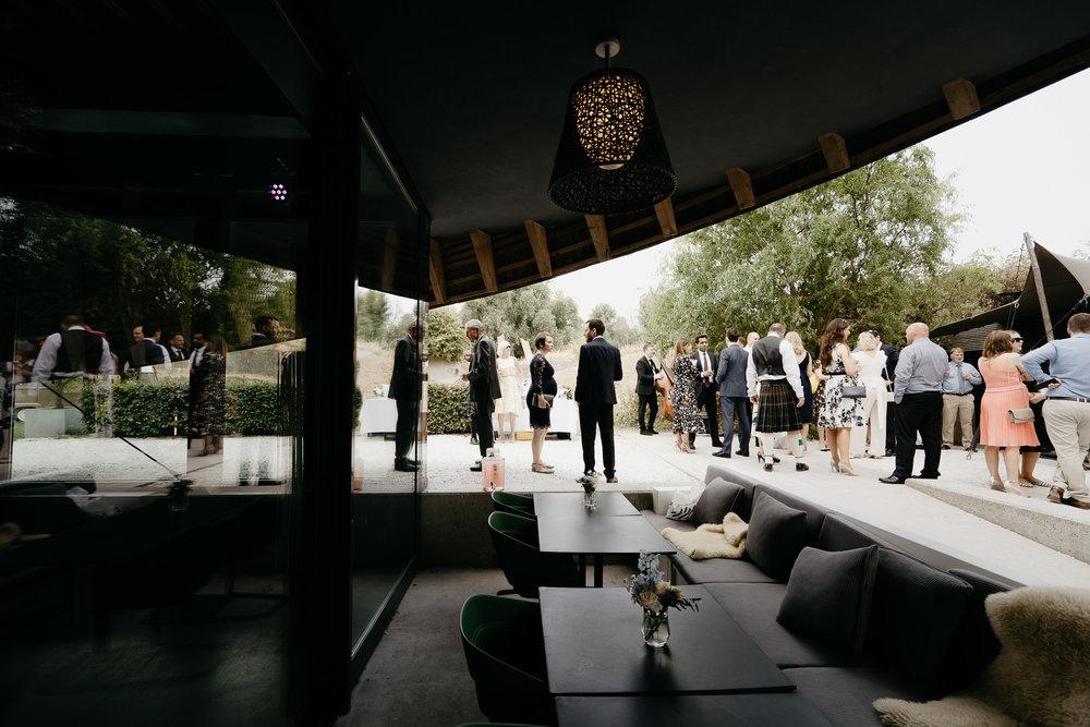 huwelijk ceremonie puur paviloen bruiloftfotografie Mark Hadden