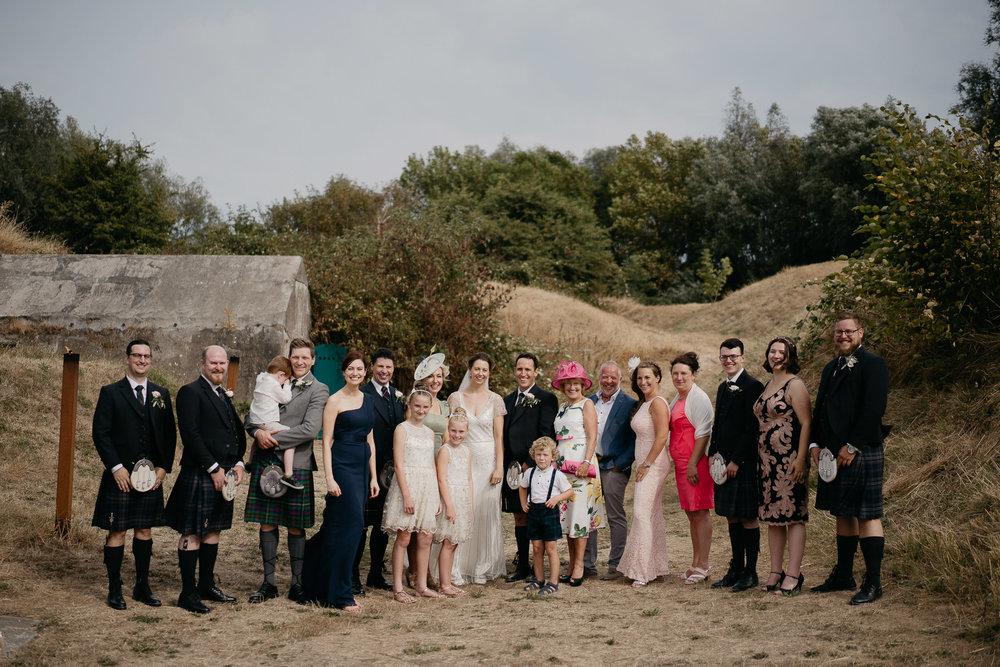 Wedding family portrait photoshoot by destination wedding photographer mark hadden