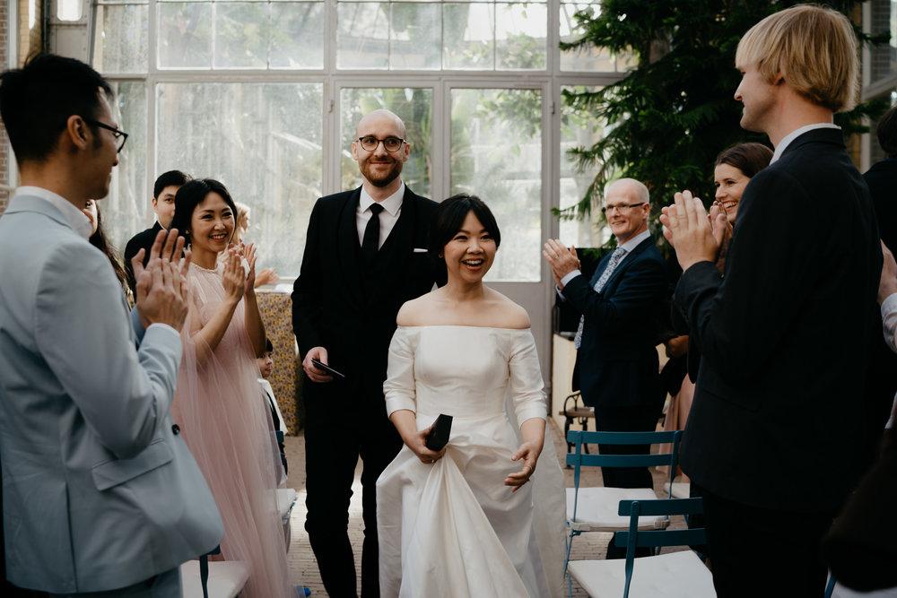 Fotografie bruid en bruidegom bruiloft fotograaf mark Hadden