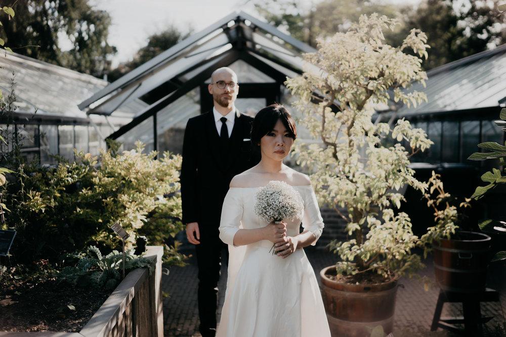 beautiful wedding portraits amsterdam photographer Mark hadden