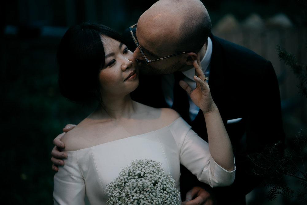 bride and groom romantic portrait photography mark hadden amsterdam