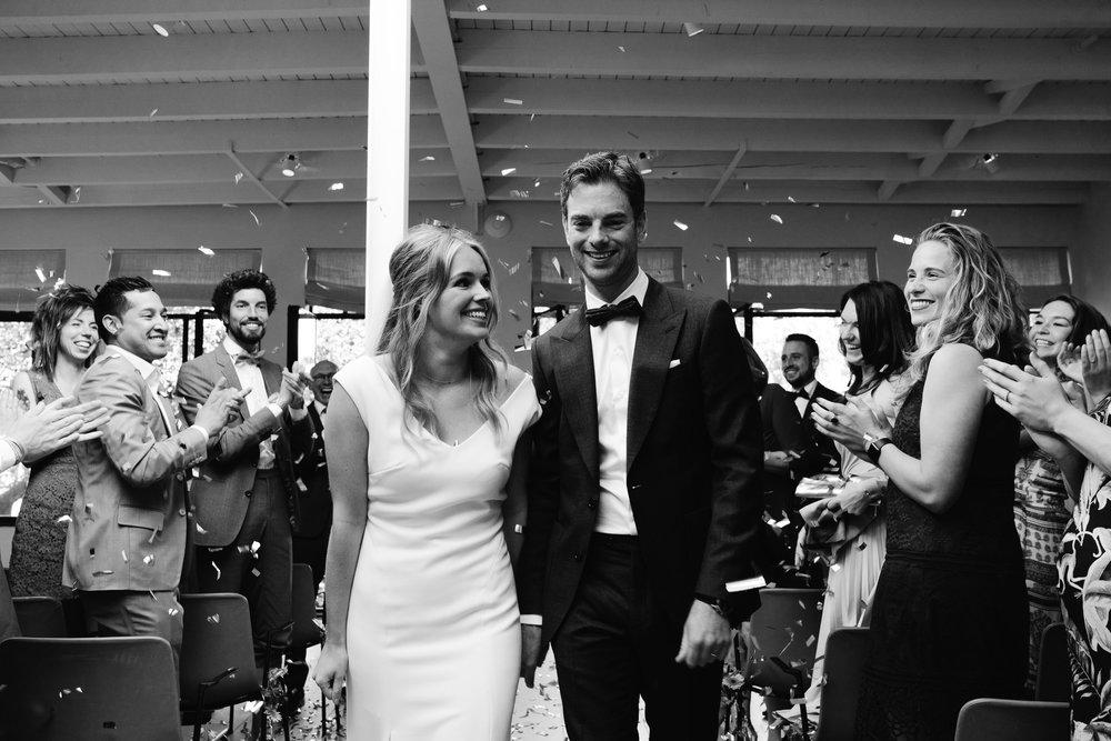 prachtige bruiloft ceremony Fotografie fotograaf mark Hadden