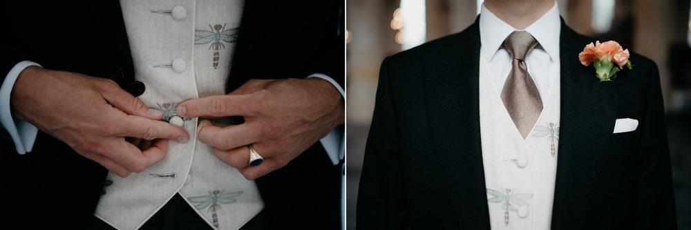 groom details photography mark hadden