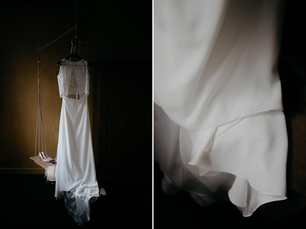 bruidsfotograaf mark hadden trouwjurk