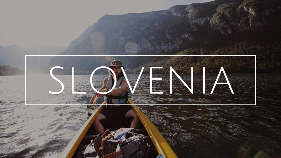 MATKABLOGI SLOVENIA