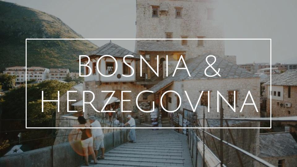 MATKABLOGI BOSNIA & HERZEGOVINA