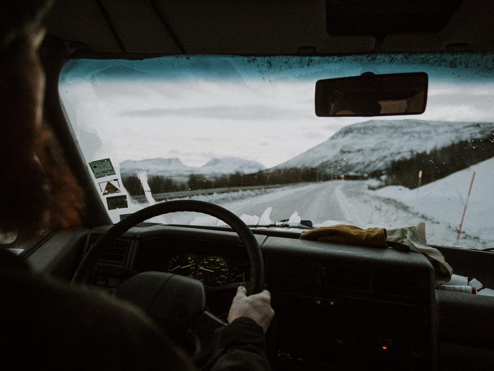 winter road trip