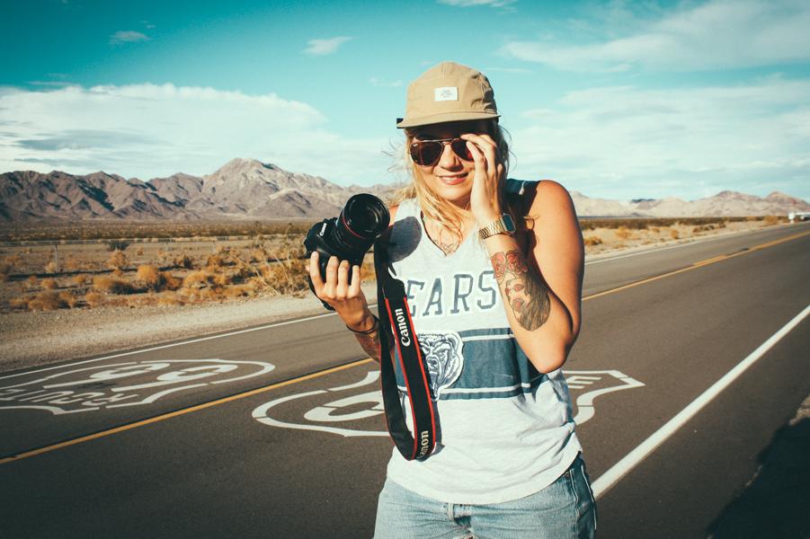 matkailija kamera