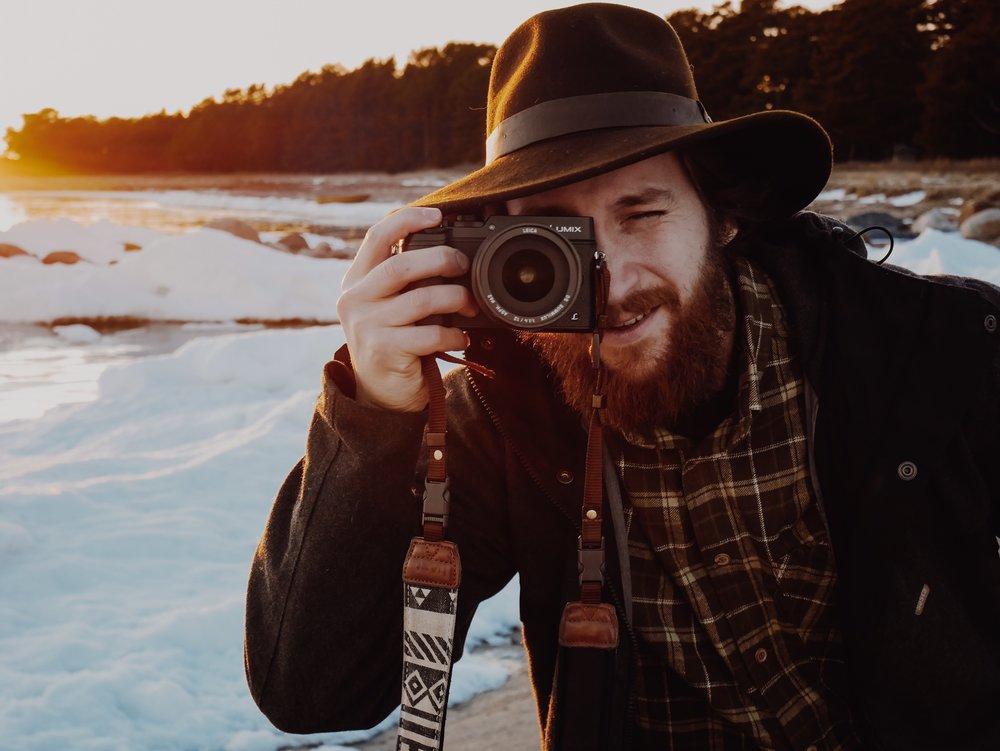 matkailijan kamera