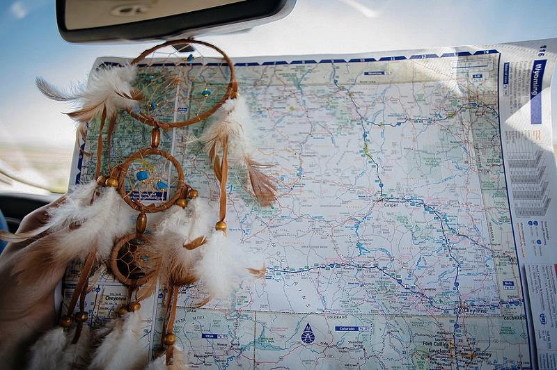 road trip dokumentit