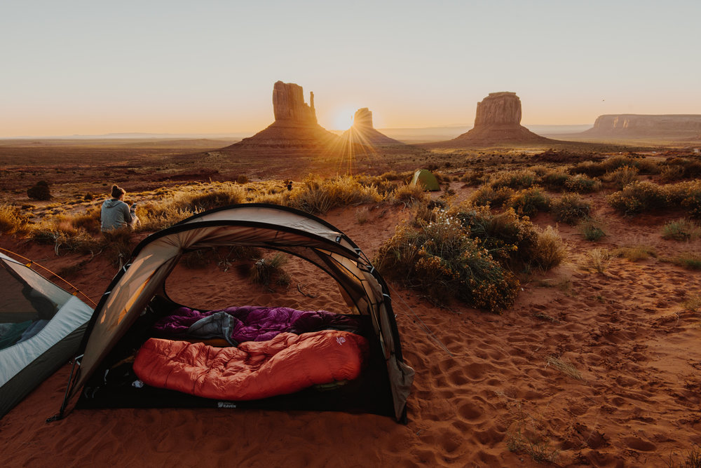The View Campground - Monument Valley Indian reservation