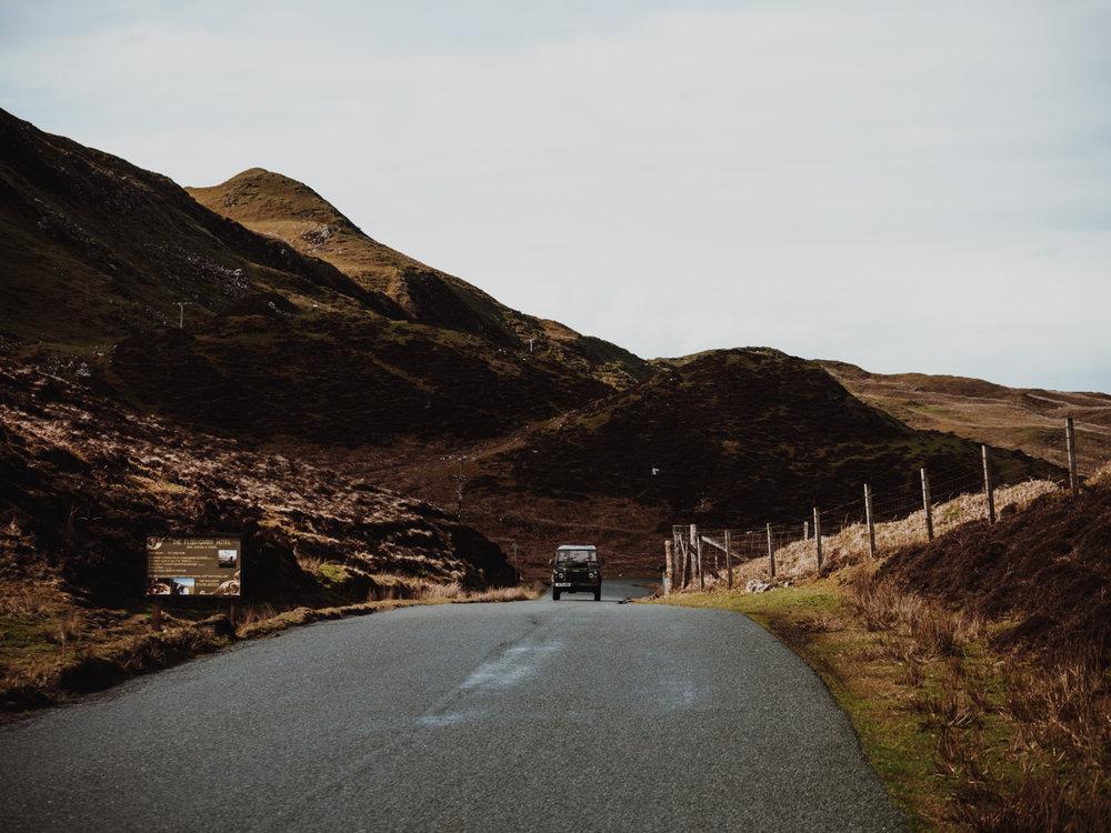 SKOTLANTI ROAD TRIP