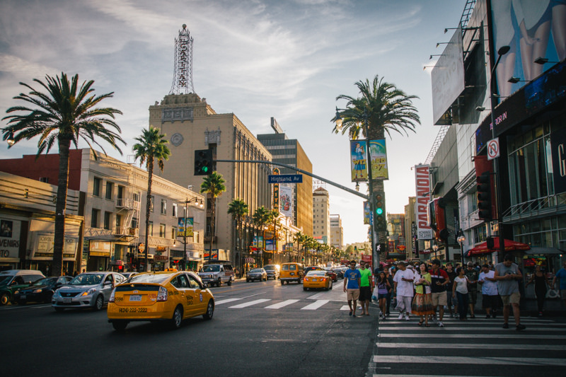 HOLLYWOOD BOULEVARD -