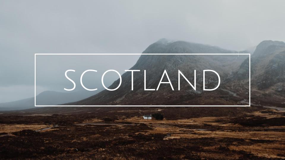 matkablogi skotlanti