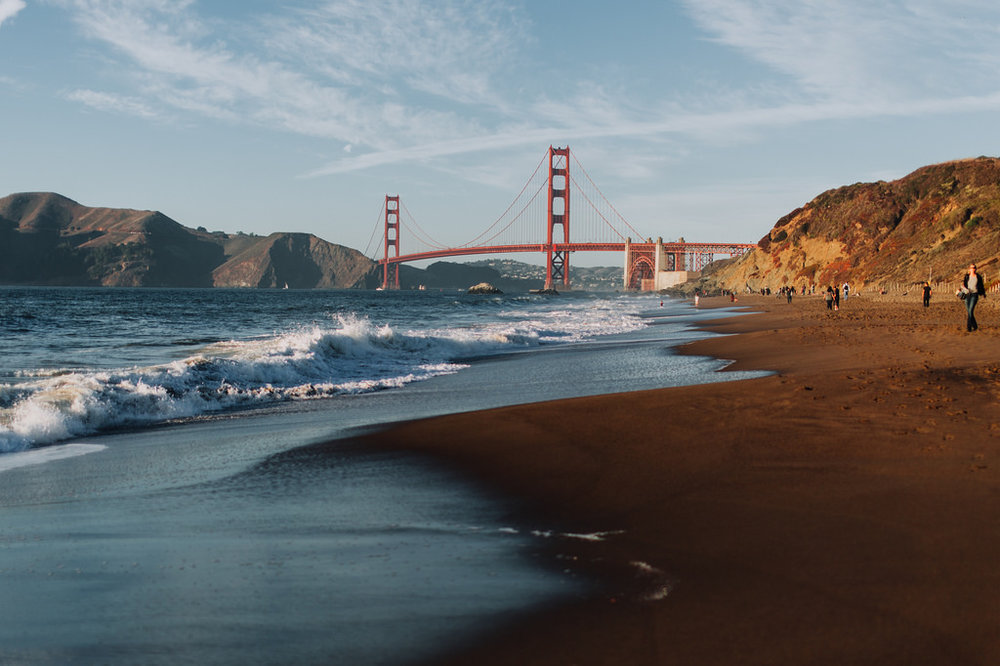 BAKER BEACH & GOLDEN GATE -