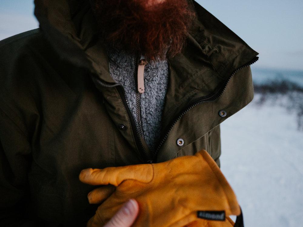 talviretkeily vaatteet