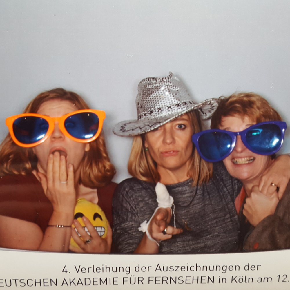 German Television Academy (DAfF): Awards show and aftershow party....with photo booth,