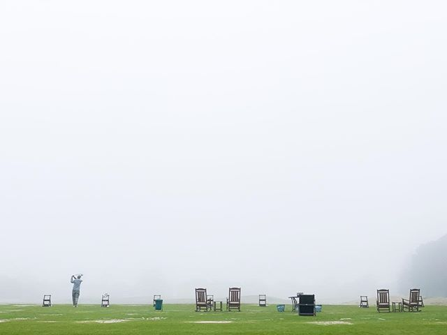 Happened across this scene today in a very dense mid-day fog in Texas. #golf #golfingfanatic #wherediitgo #practicetee #driver #nicedayinthefog #playinggolf #loveofthegame #thegoodlife #alonewithmygame #beautifulfollowthrough #michaelbarleyphoto #texasphotographer #thisgunisforhire #whitespacerules #lessismore #keepitsimple #lovemyeyes #visualliteracy