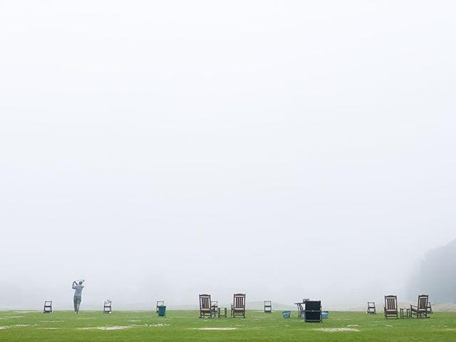 Happened across this scene today in a very dense mid-day fog in Texas. #golf #golfingfanatic #wherediitgo #practicetee #driver #nicedayinthefog #playinggolf #loveofthegame #thegoodlife #alonewithmygame #beautifulfollowthrough #michaelbarleyphoto #texasphotographer #thisgunisforhire #whitespacerules #lessismore #keepitsimple #lovemyeyes #visualliteracy