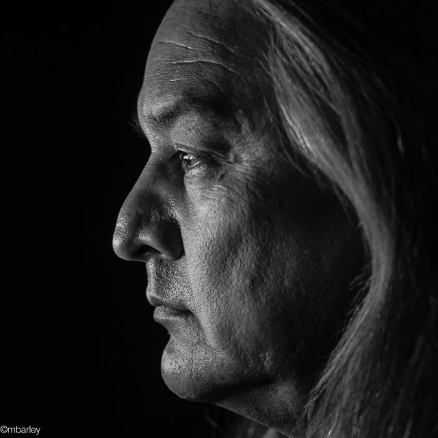 "Portrait from 3 Advertising ""Hates Cancer"" campaign for MD Anderson in New Mexico. #Native American #indigenouspeople #strength #determination #hatescancer #michaelbarleyphoto #texasphotographer @mdanderson"