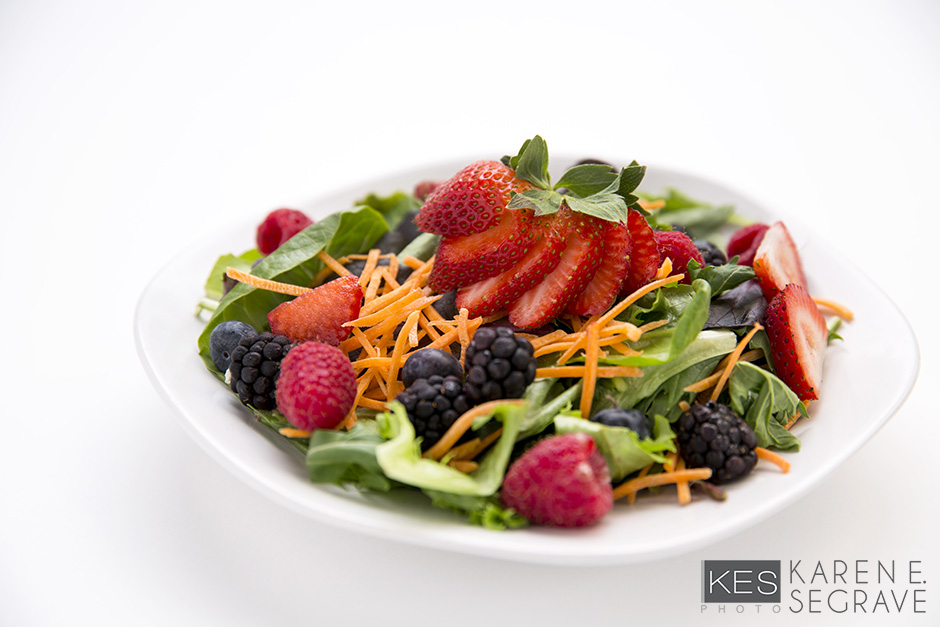 Field Greens and Berry Salad