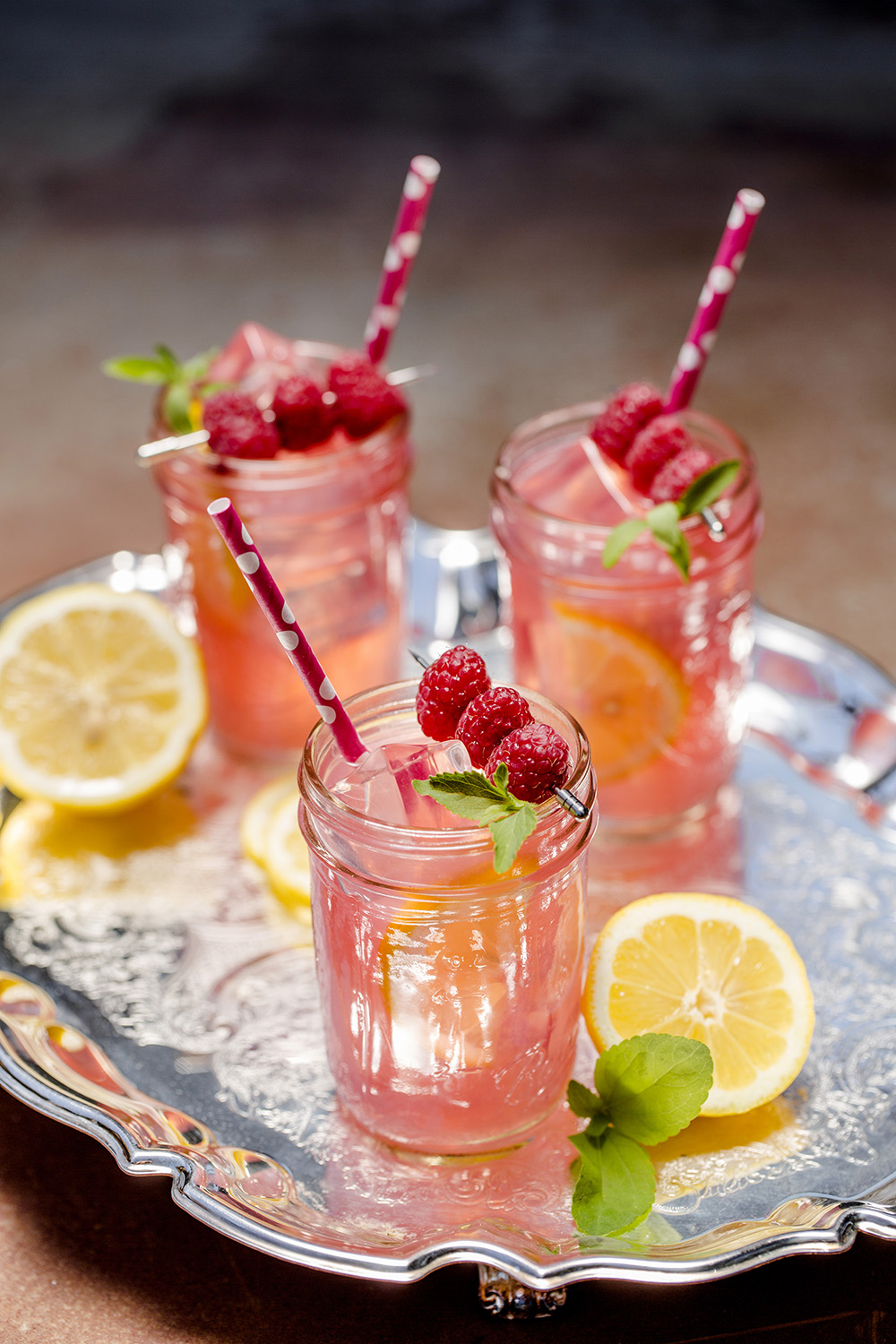 Why have regular lemonade when you can have Raspberry Lemonade?