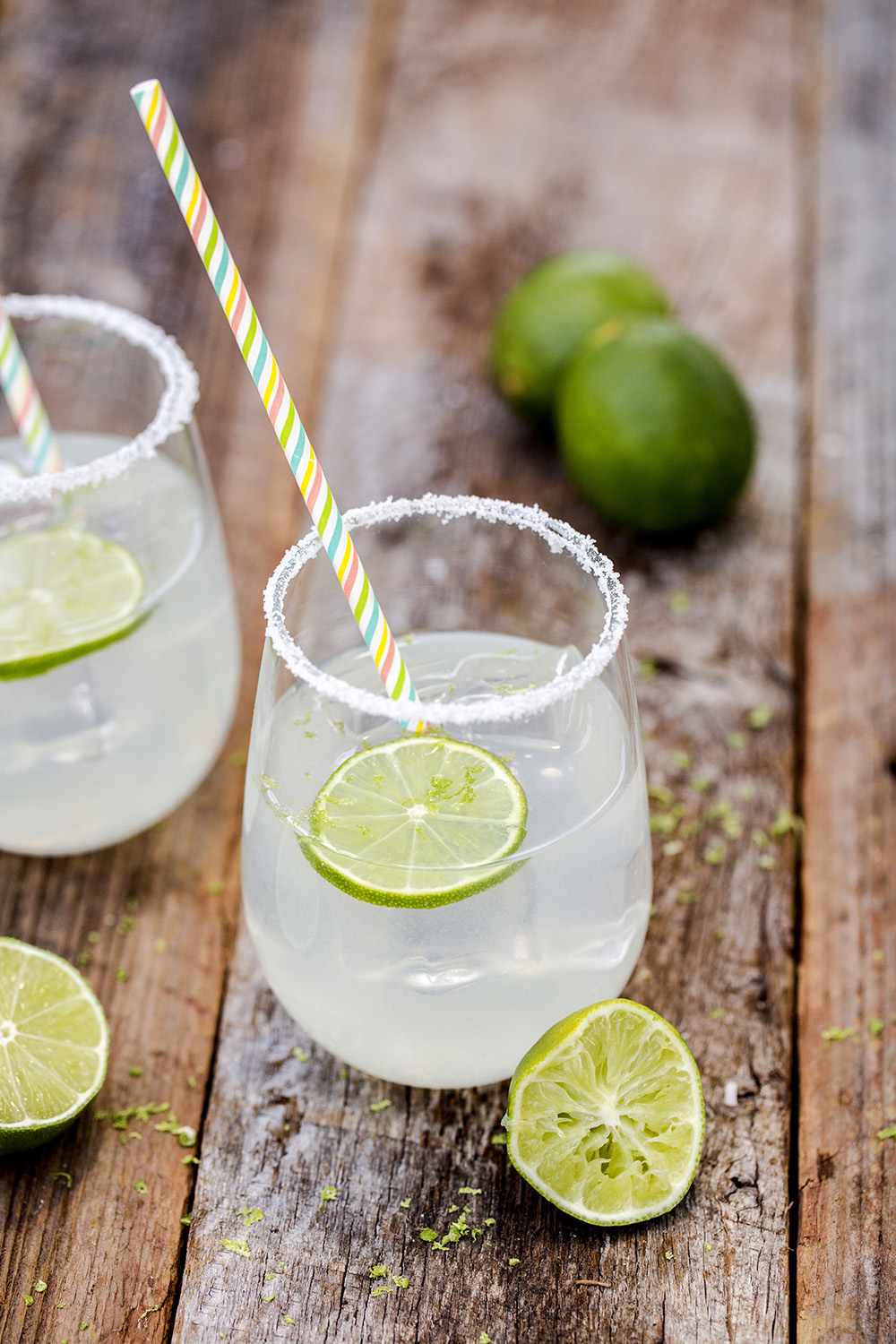 Limeades are a fun alternative to lemonade. And both can be made with sugar substitutes for those who are calorie conscious.