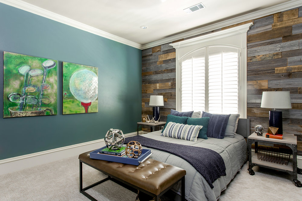 For The Boys Bedroom I Was Really Drawn To Wooden Focal Wall And Teal Walls Accents Another Favorite Of Mine Is Collage Nature