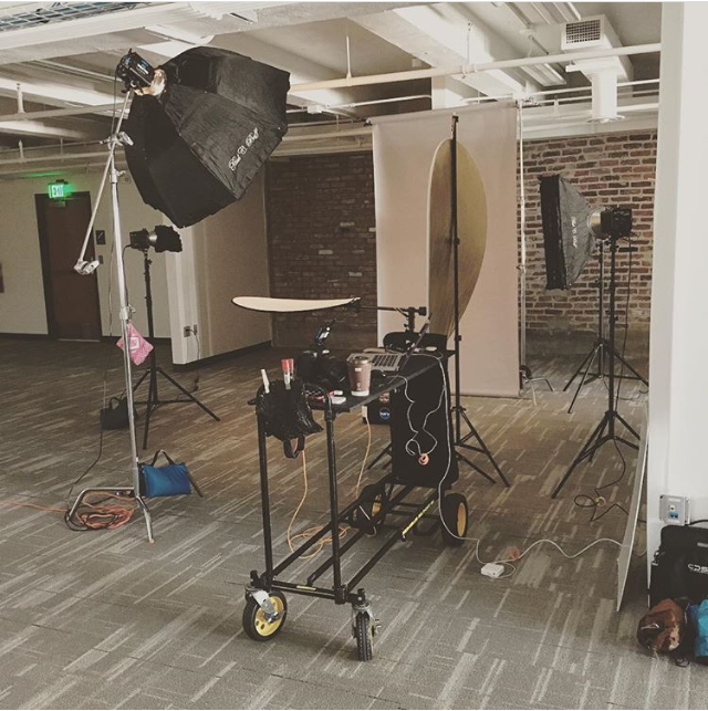 After I completed my project for the LR Tech Park, I rented a part of their space for my head shot event in July. I'm hoping to schedule another head shot event in the fall. If so, I hope to rent it again. It's a perfect space!
