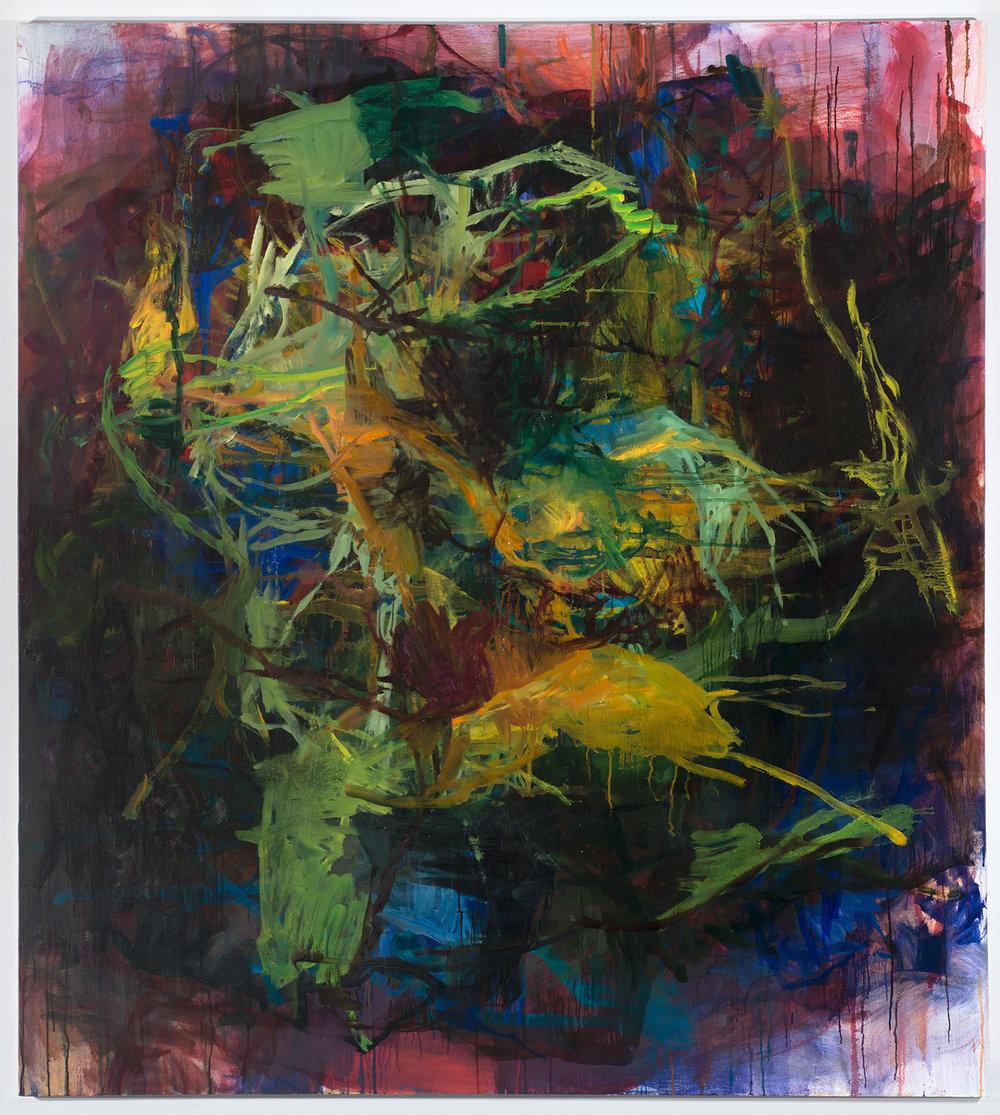 Murmur,  2014 oil on canvas 70 x 64 in.