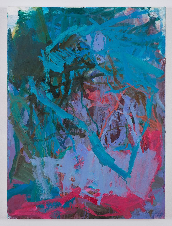 Nightcrawler,  2015 oil on canvas 34 x 25 in.