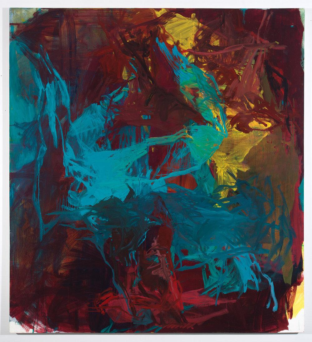 Bridge,  2014 oil on canvas 64 x 52 in.