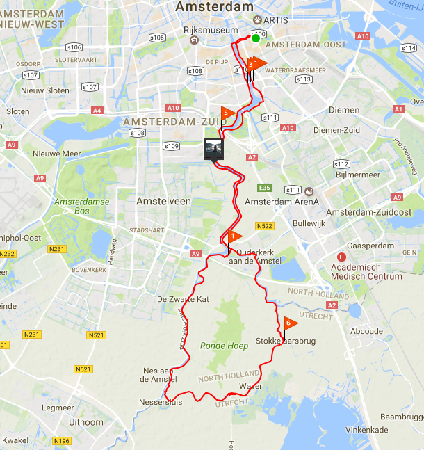 10 Favourite Cycling Routes — ATAC - Amsterdam Triathlon and Cycling ...