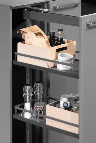 Système d'organisation intérieure MOVE pour armoire à provisions