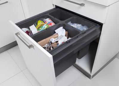Système de déchets pour les coulissants
