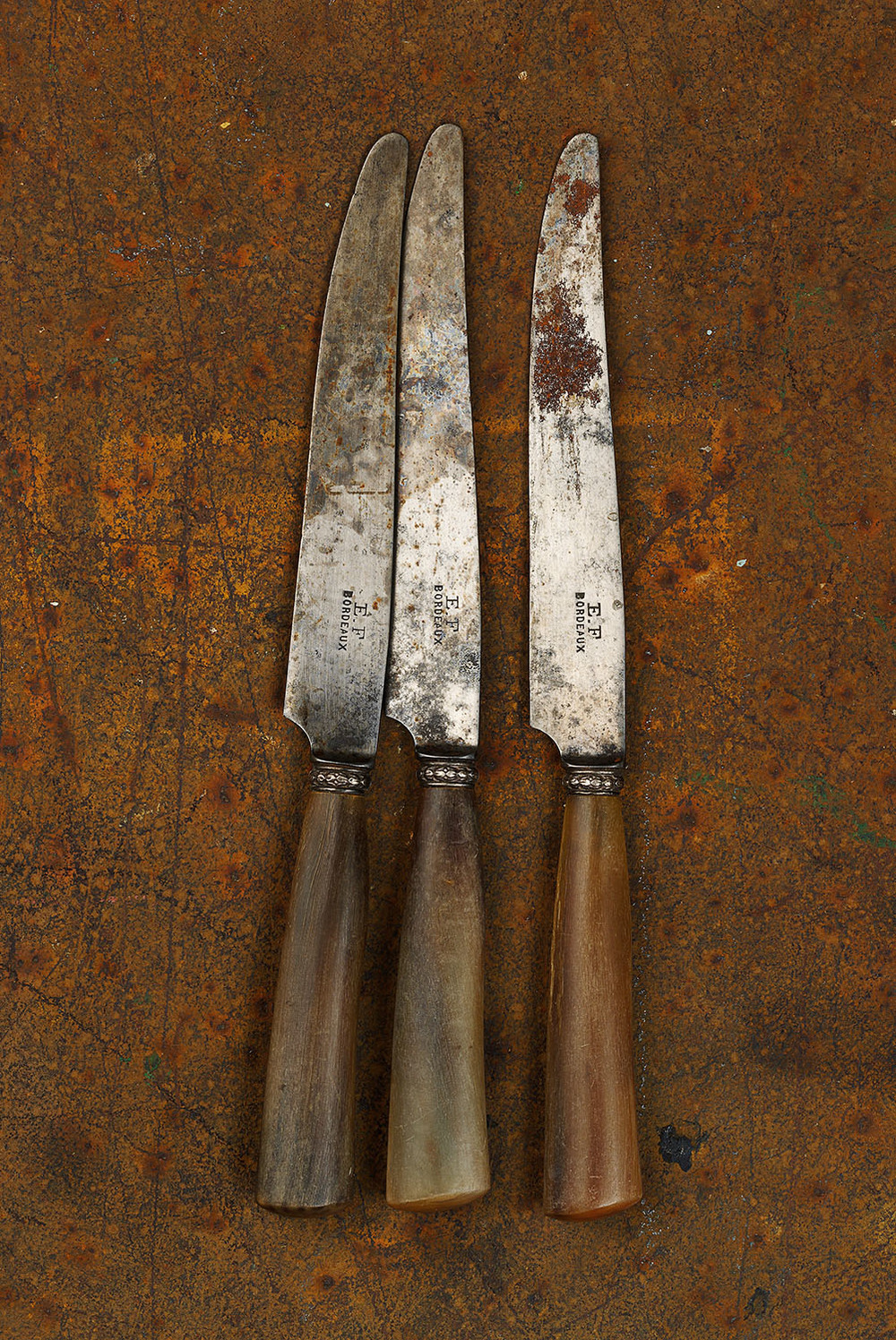 #32 Three Bordeaux Knives